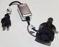 Светодиодные лампы LED H4 Warrior X Ra8 mini ZES (пара)