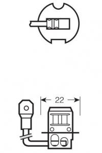 Галогеновая лампа H3 OSRAM NIGHT BREAKER UNLIMITED