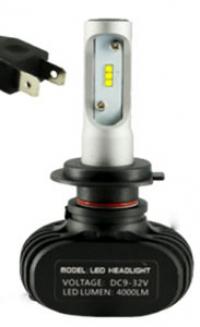 Светодиодные лампы LED Н7 Runoauto N1 CSP 5000K (пара)