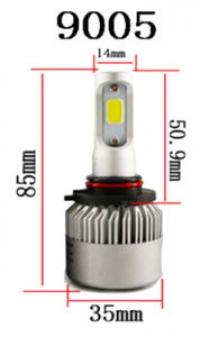 Светодиодные лампы LED 9005 / HB3 Runoauto S2 COB (пара)