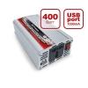 Автомобильный инвертор / преобразователь напряжения с 12В на 220В AVS 12/220V IN-400W