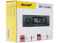 Автомагнитола SWAT MEX-1016UBG