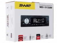 Автомагнитола SWAT MEX-1013UBW