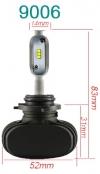 Светодиодные лампы LED 9006 / HB4 Runoauto N1 CSP (пара)